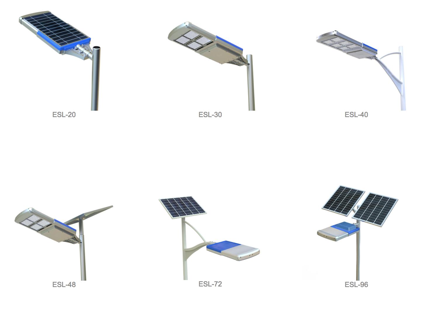 Solar Street Lights Design