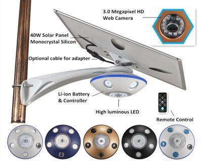 Smart Solar CCTV Light 3