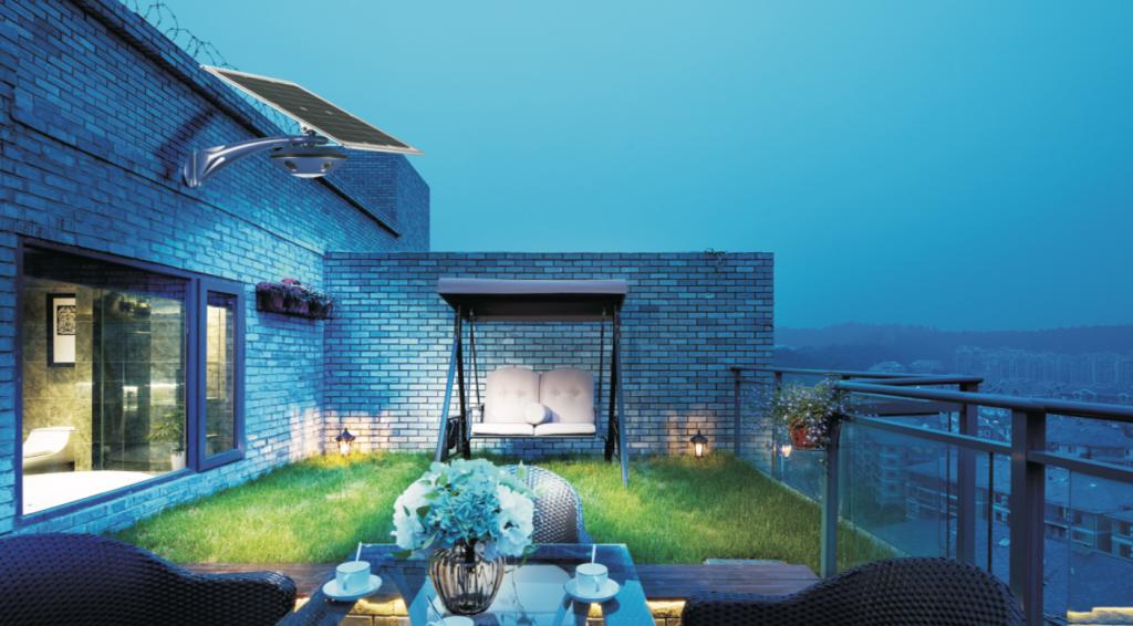 Smart Solar CCTV Light 2
