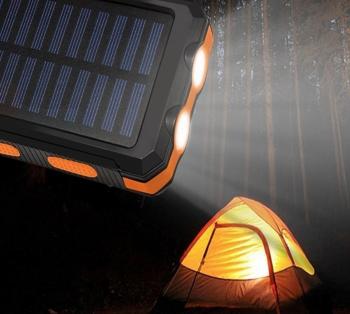 Solar Waterproof Power Bank 2