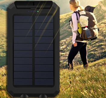 Solar Waterproof Power Bank