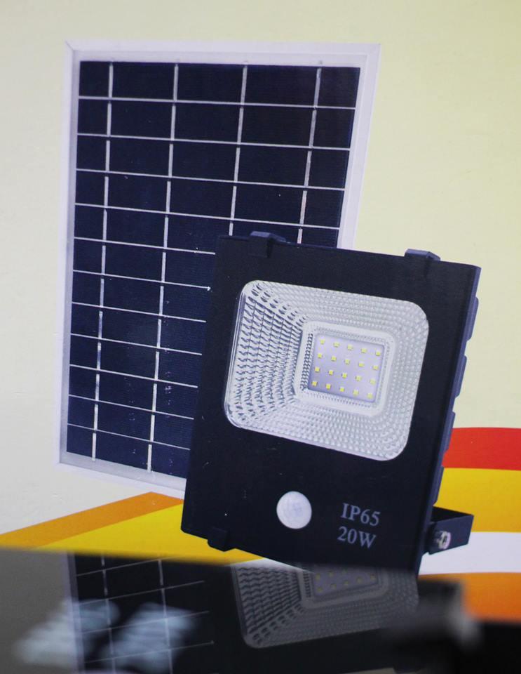 Solar Motion Sensor Light 20 Watt