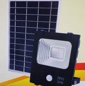 Solar Motion Sensor Light 20 Watt