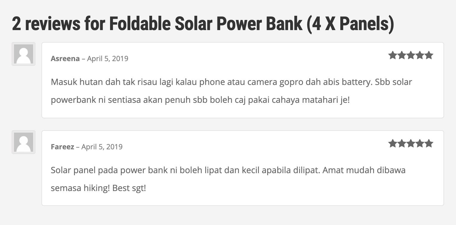 review foldable powerbank