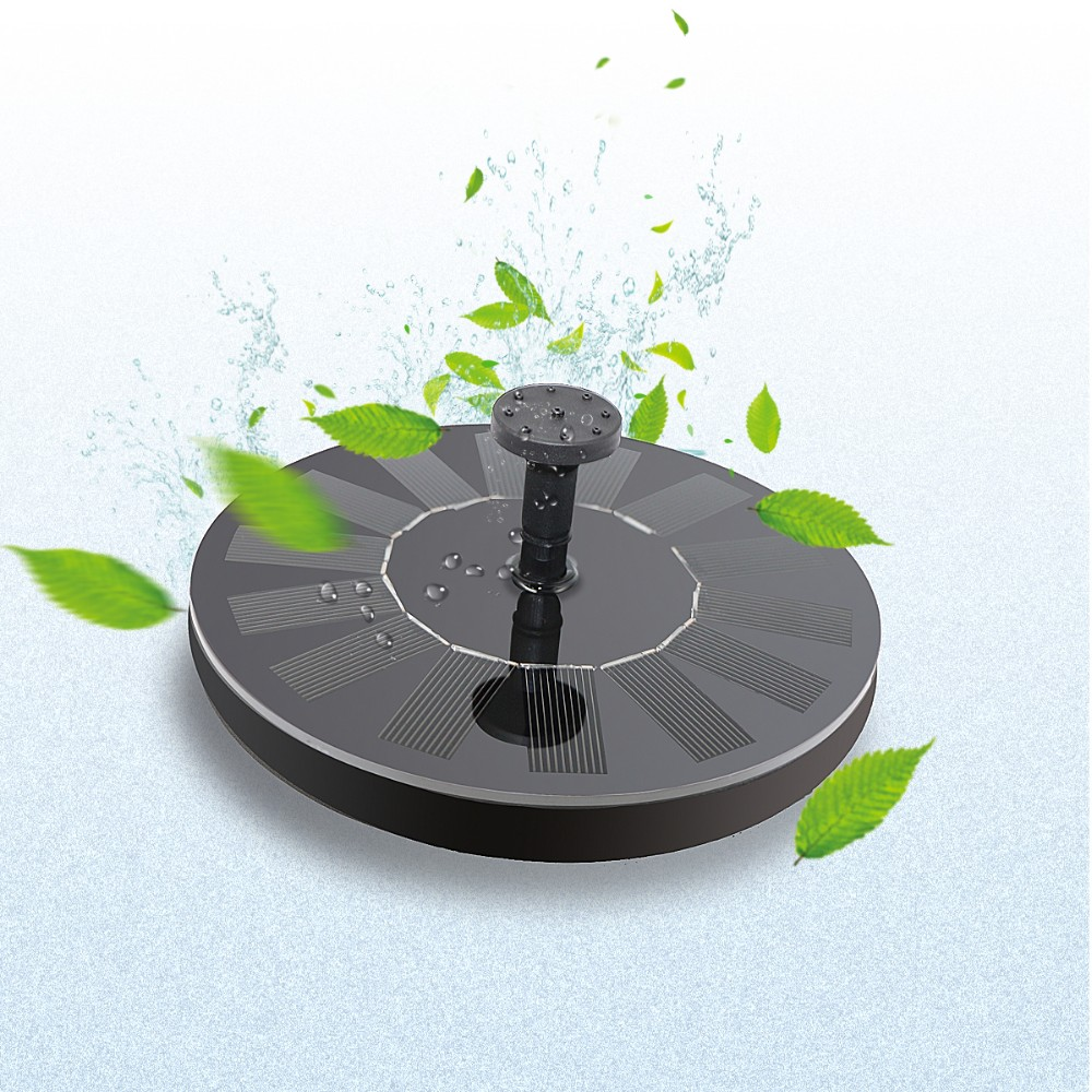 Solar Water Fountain
